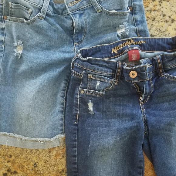 Arizona Jean Company Pants - Shorts- 2 pair